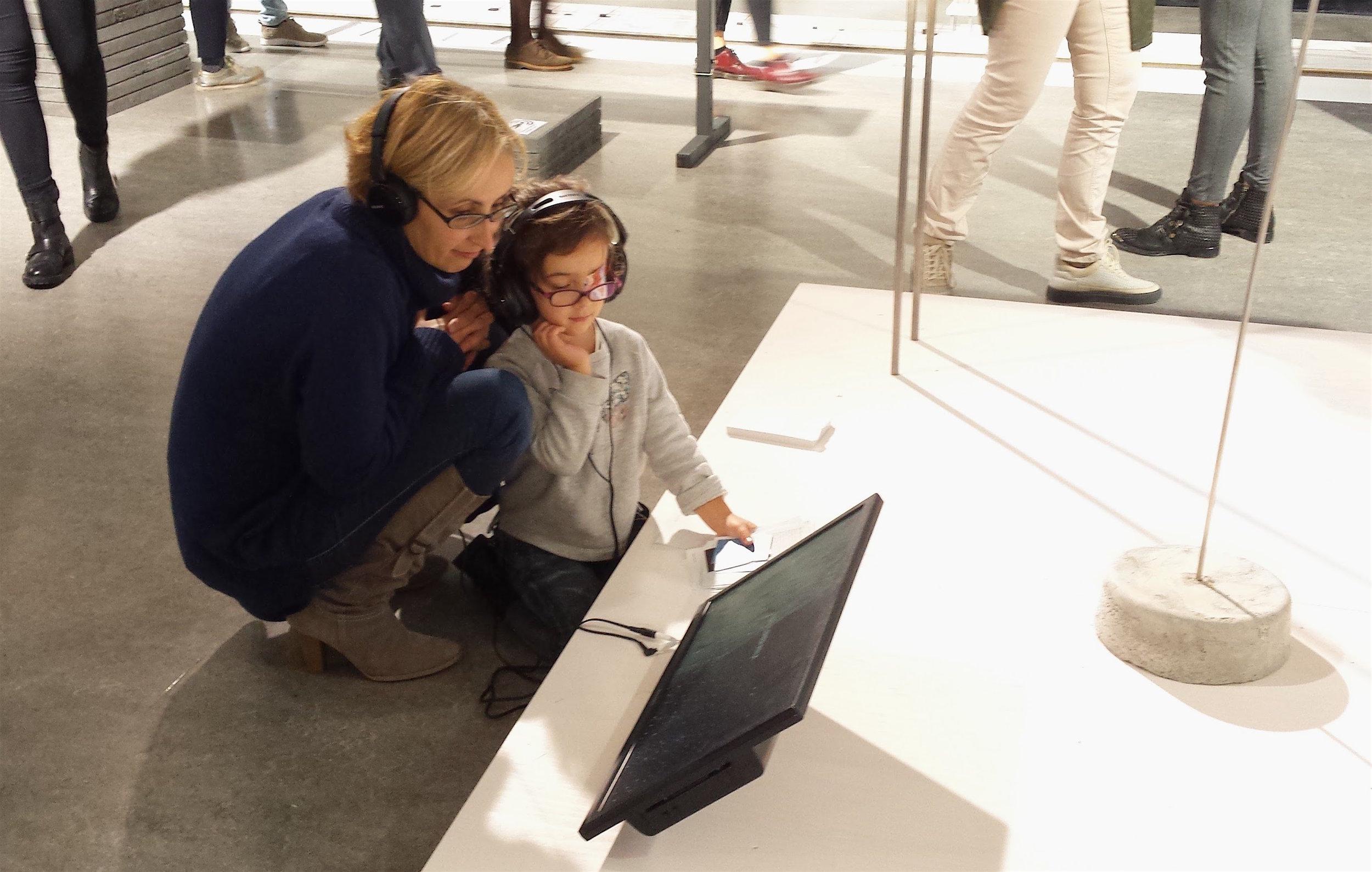 Jessica's work for   Sound Zen Gardens    on display at Dutch Design Week 2016