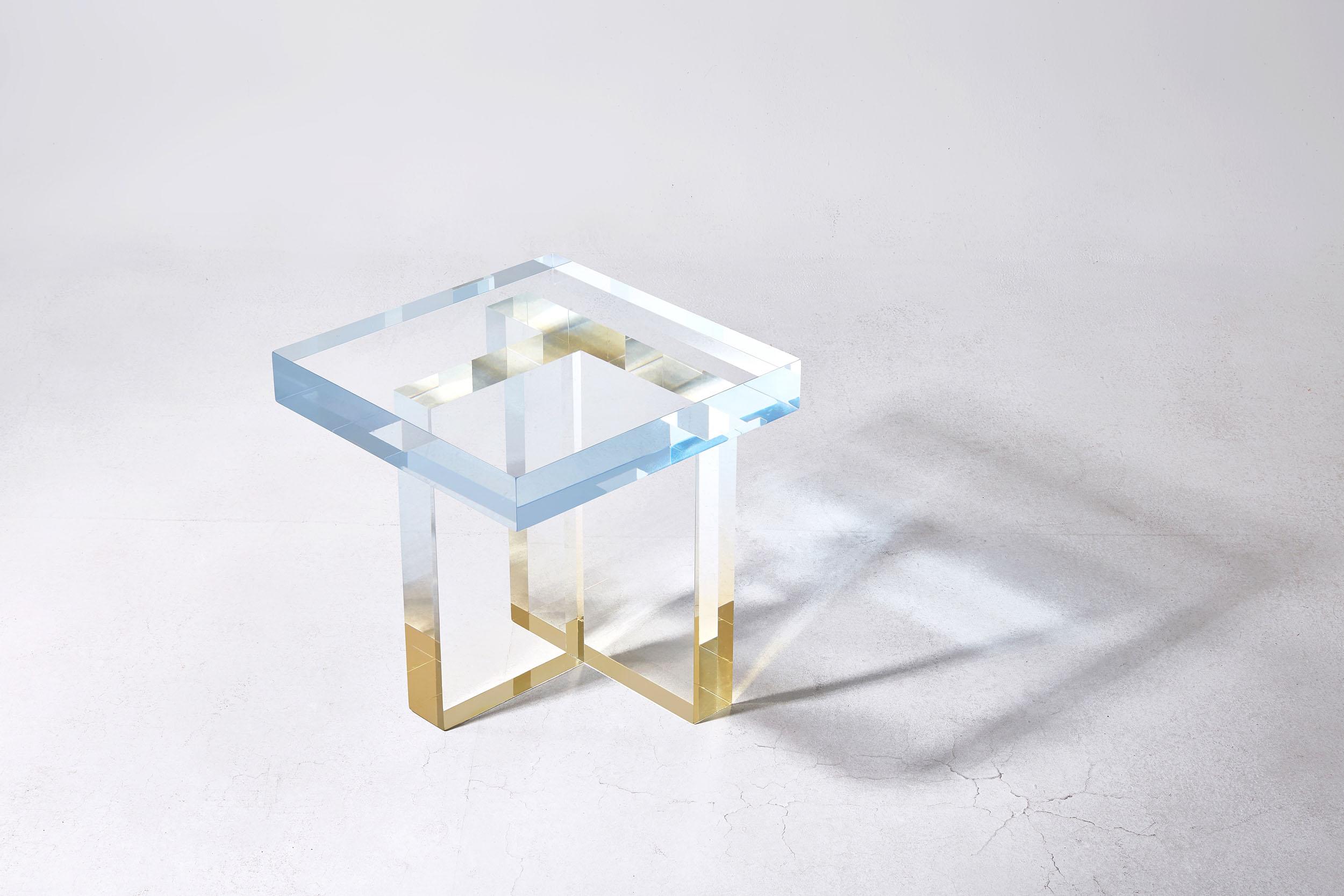 Crystal Series Table 1, Sky blue to yellow. Image source: Saerom Yoon