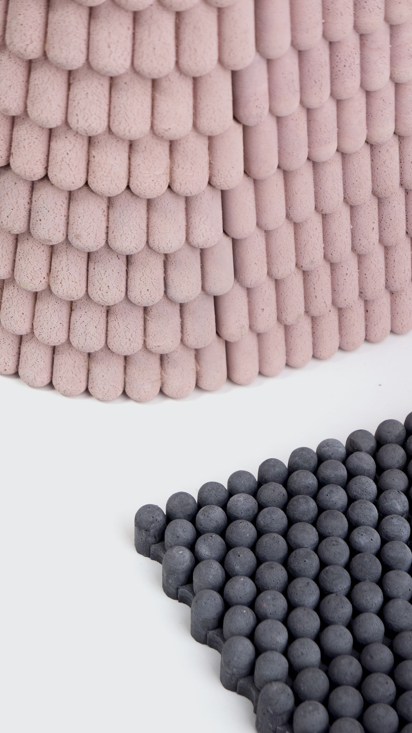 Carpet, and exterior wall-covering formats are seen in Iwan Pol's  Happy Concrete-II