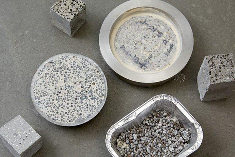 Self Healing Concrete. Image Source: Smithsonian Magazine