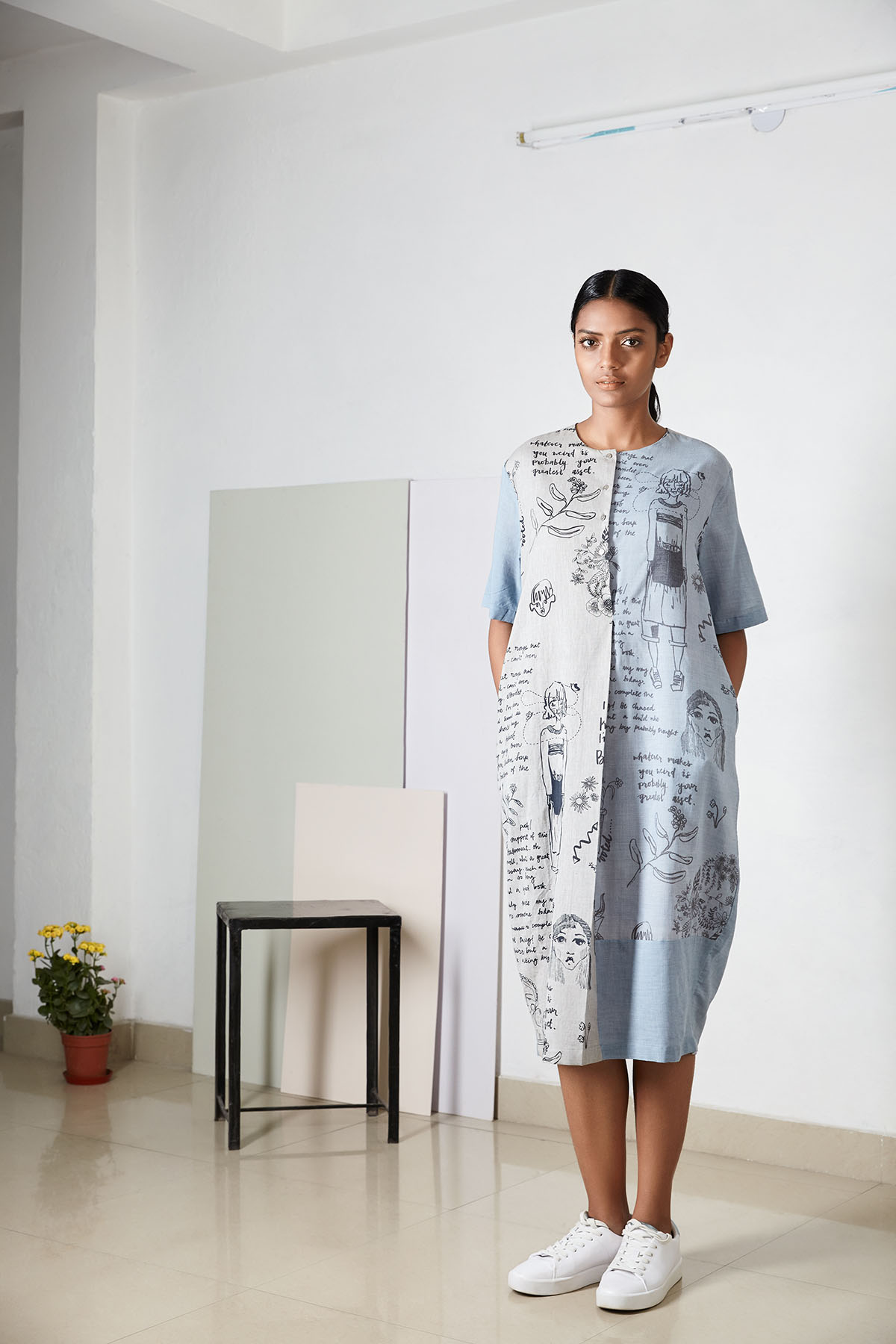 A dress from  Doodlage's  new SS'17 collection