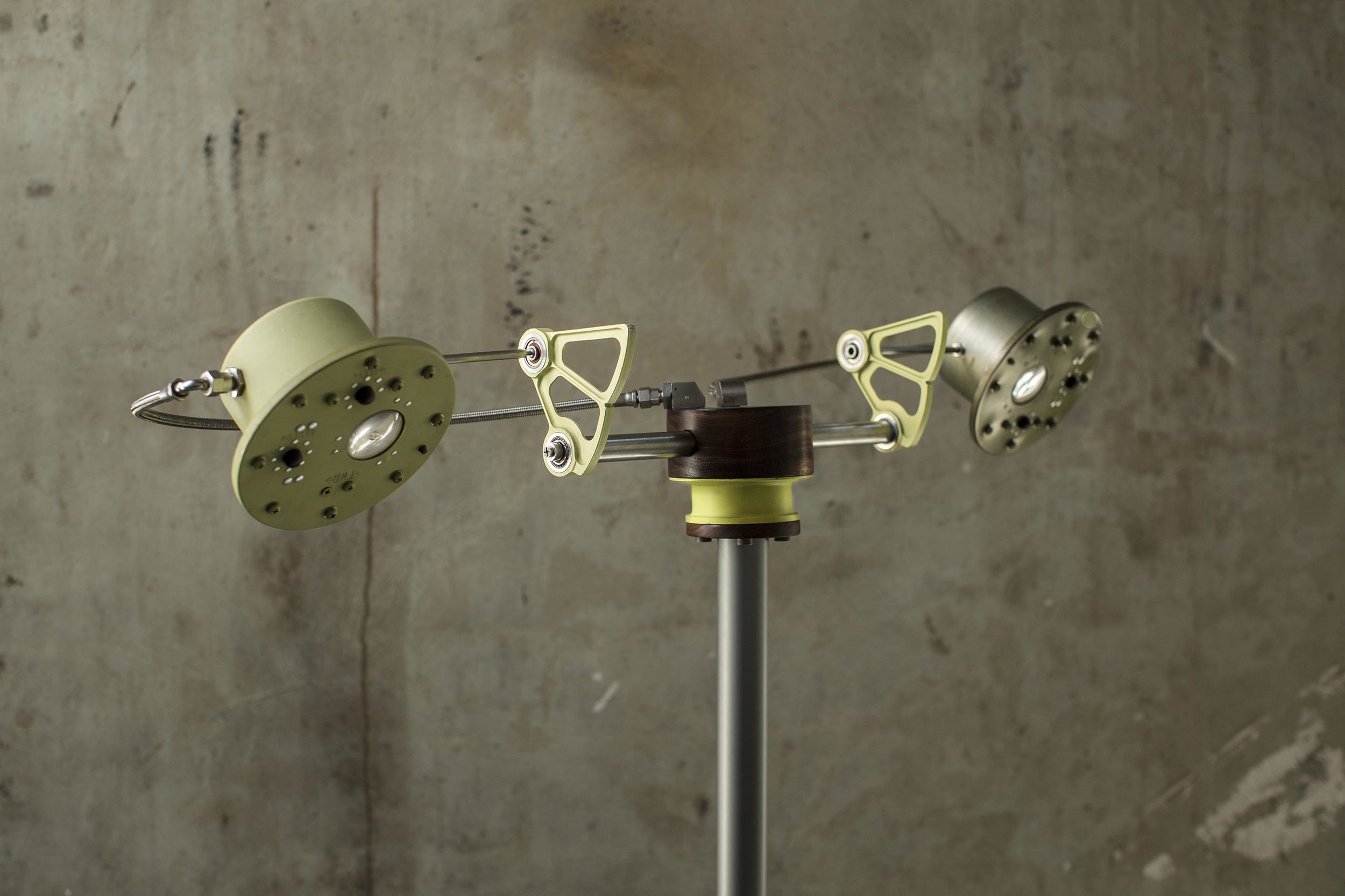 Aero No.4 , A tall floor lamp from the  Aero  collection by Alper Nakri
