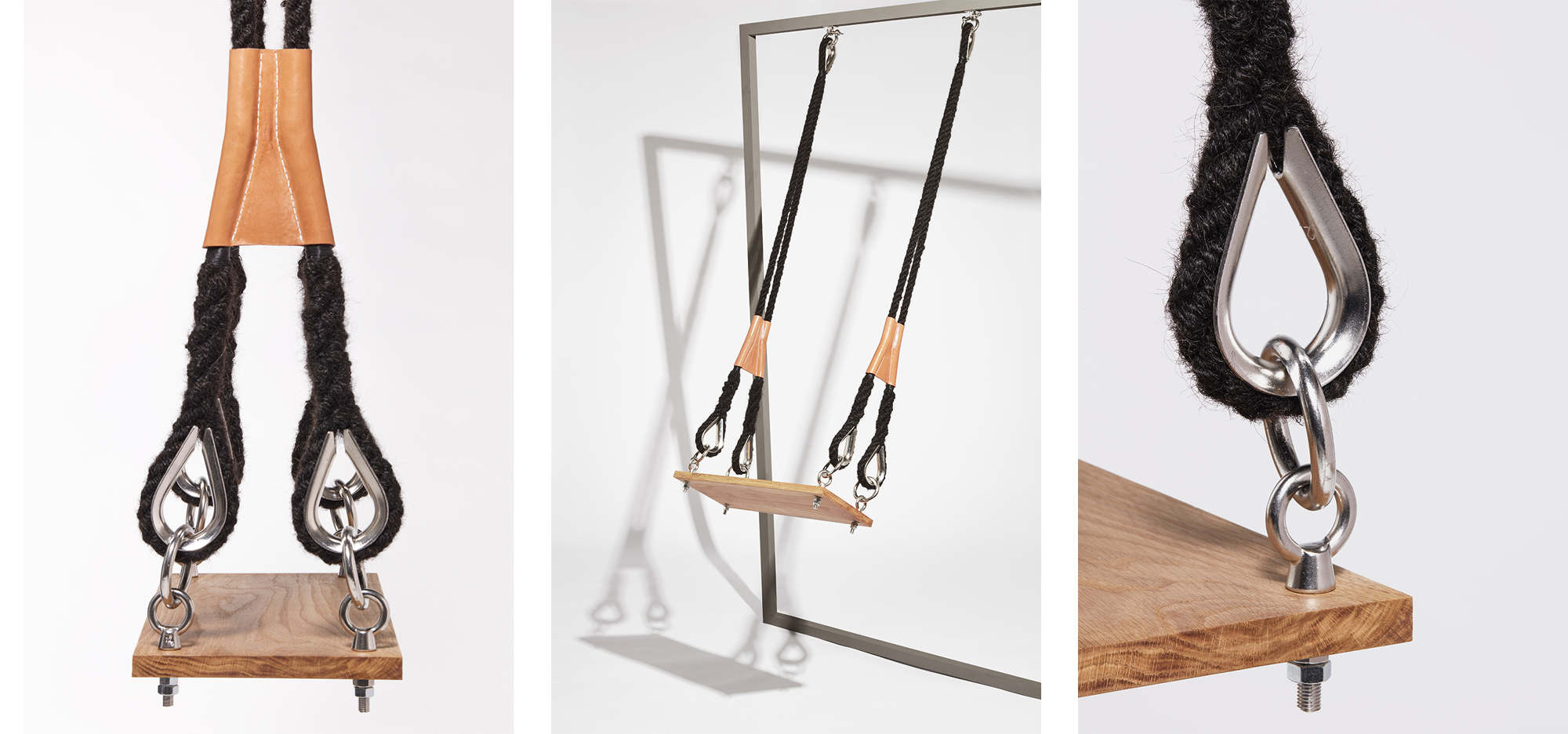 ' The Swing ' by Sanne Visser,as seen at Milan Design Week, at the  Age of Man  exhibition.