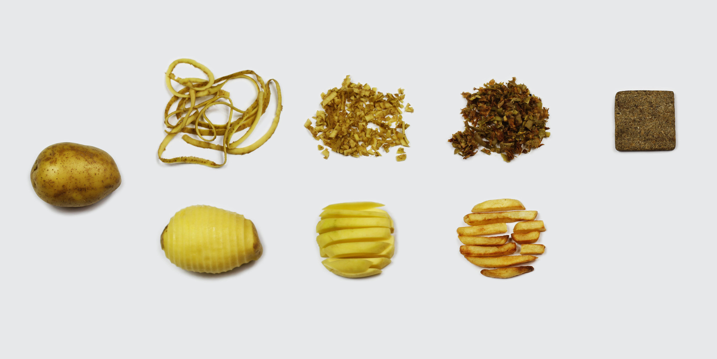 Transforming potato waste into Chip[s]Board