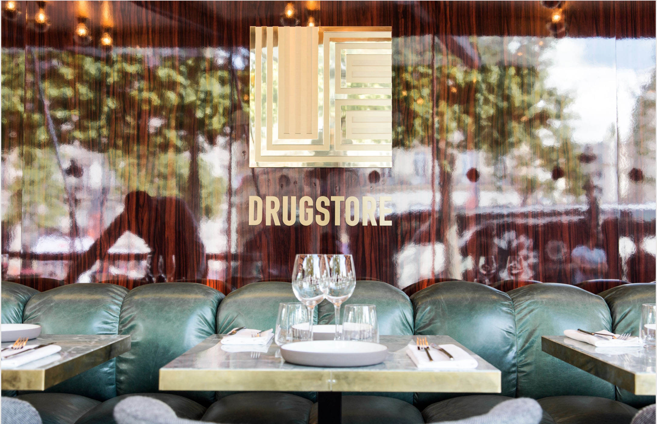 Brand Identity for Le Drugstore, Paris, by  Design&Practice