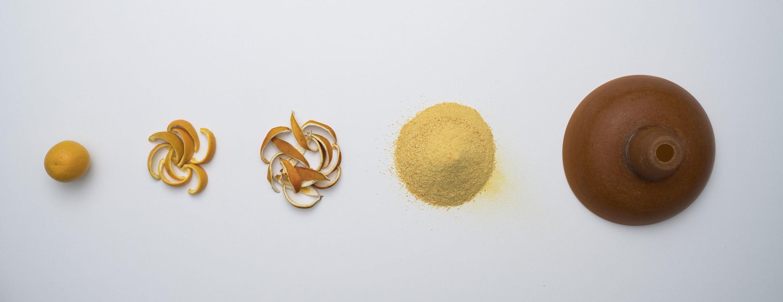 Orange peel transformed, in  The Peel Project  by Venn Reactor
