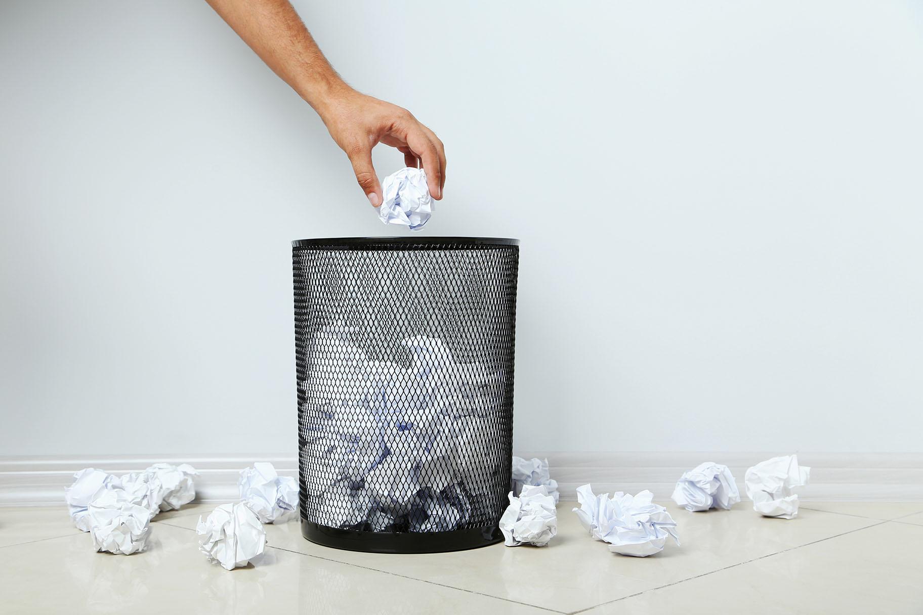 Waste paper is the chief ingredient of Hannah Elisabeth Jones's BioMarble material
