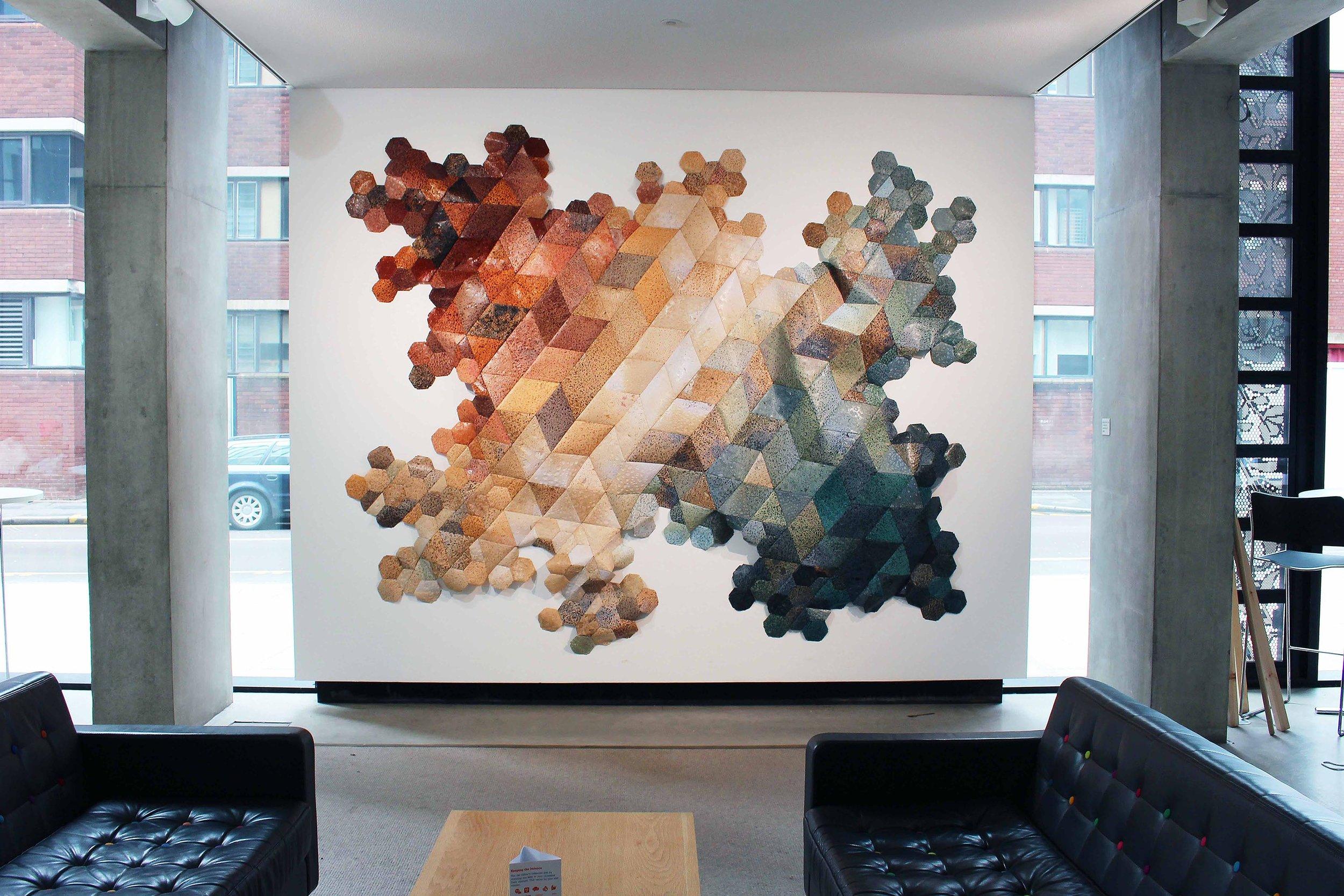 Hannah Elisabeth Jones - Commission for Vertical Gallery, Manchester School of Art, 2017