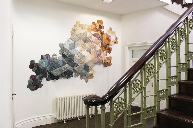 Hannah Elisabeth Jones - Commission for Bruntwood Offices, Manchester, 2017