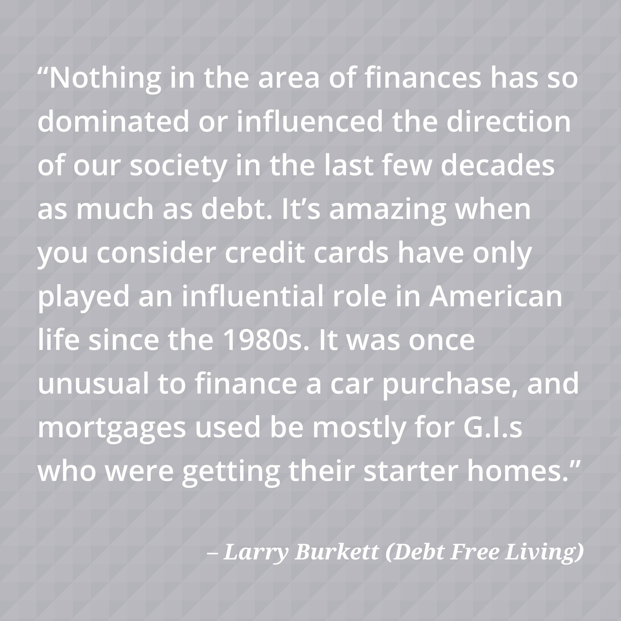 Larry Burkett Quote