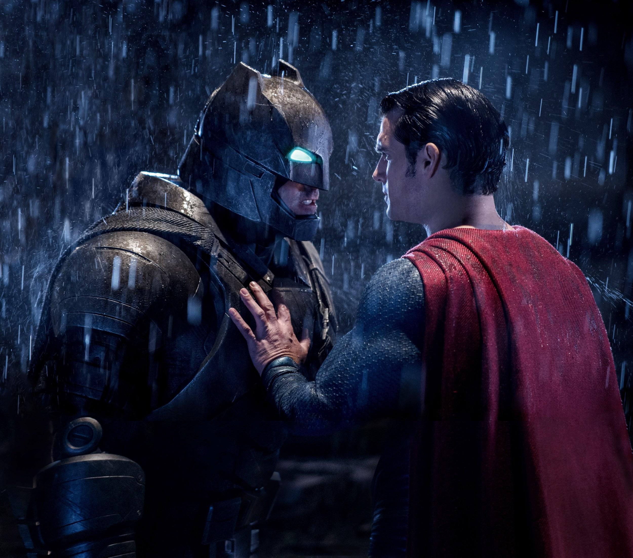Ben Affleck and Henry Cavill star in director Zack Snyder's  Batman v. Superman: Dawn of Justice