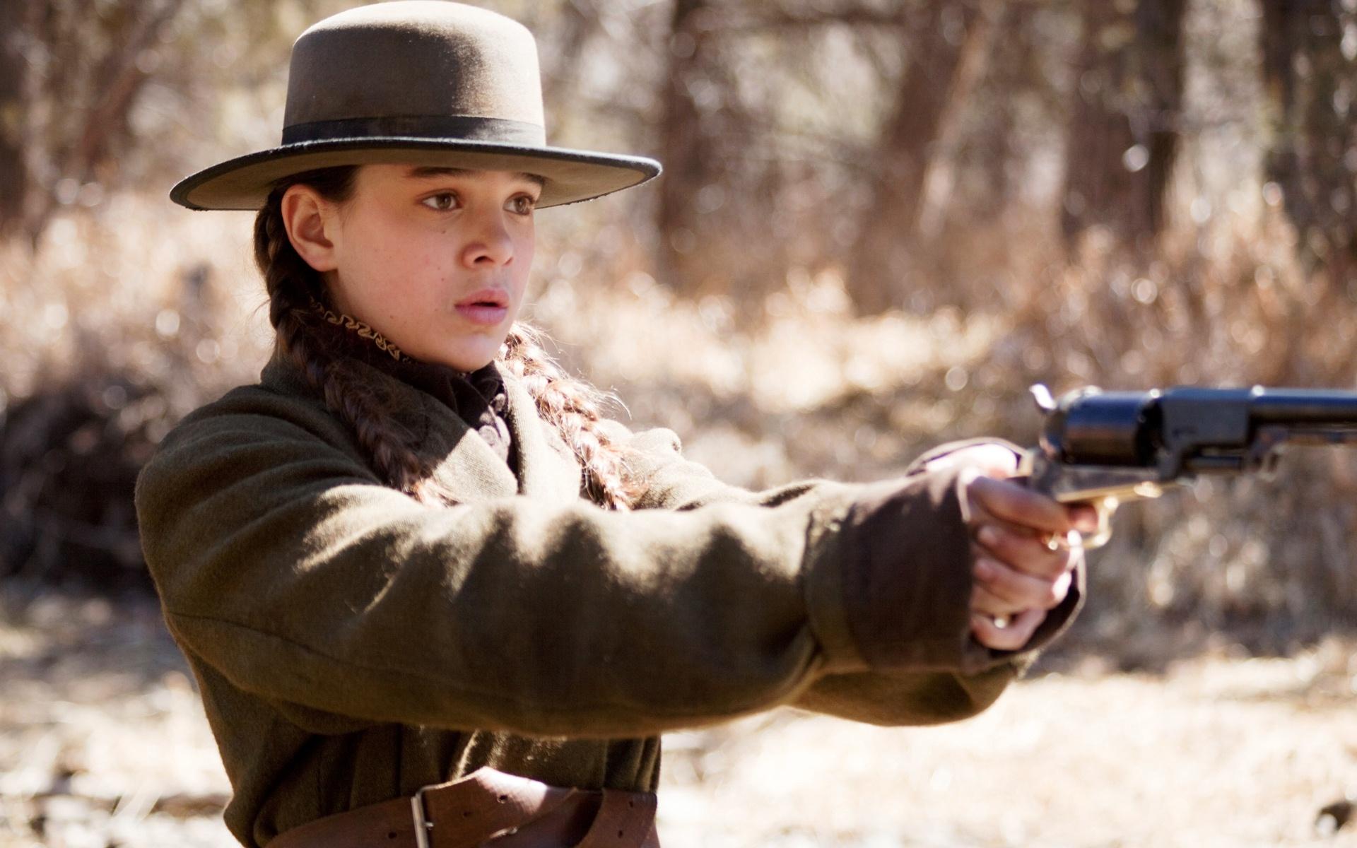 Hailee Steinfeld stars as Mattie Ross in the Coens'  True Grit