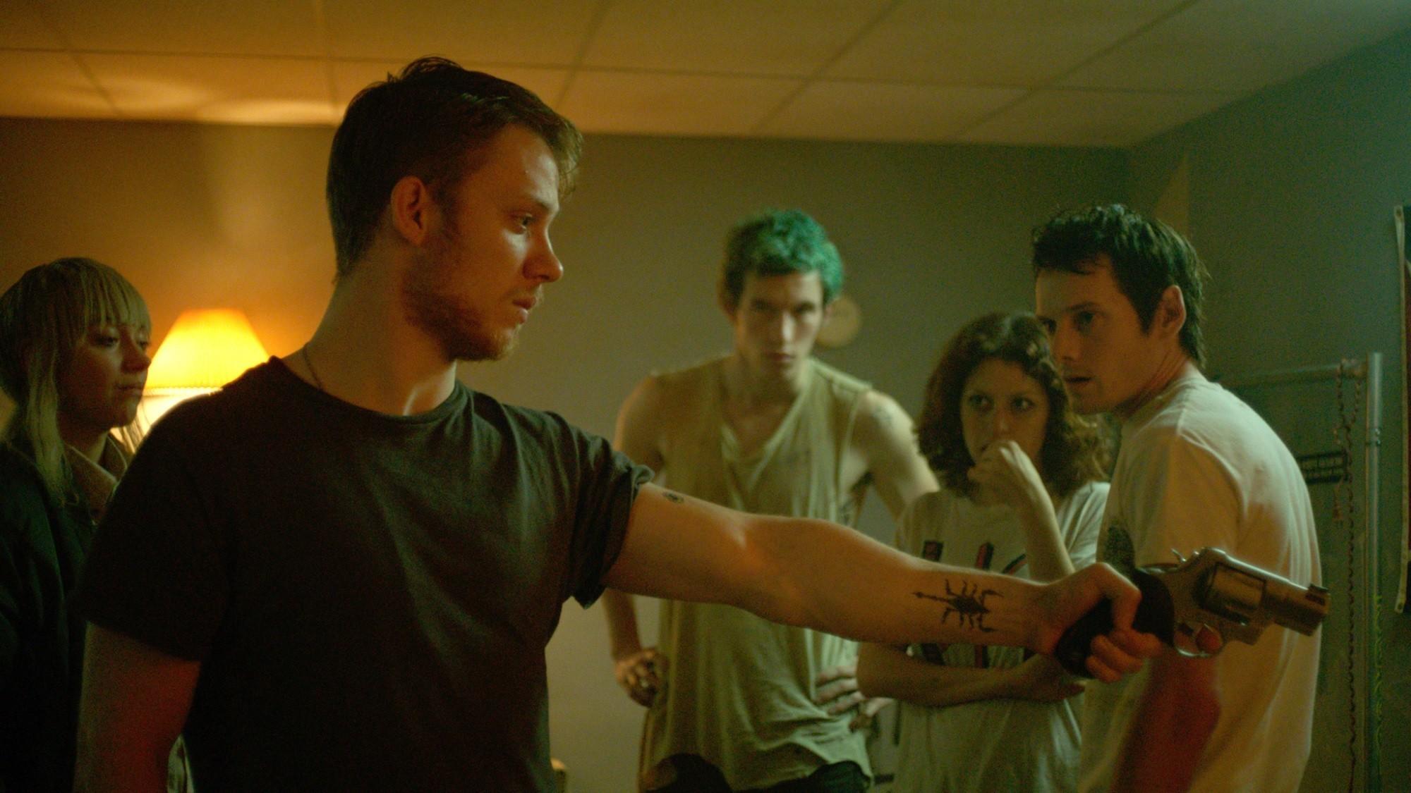 Imogen Poots, Joe Cole, Callum Turner, Alia Shawkat, and Anton Yelchin star in director Jeremy Saulnier's  Green Room