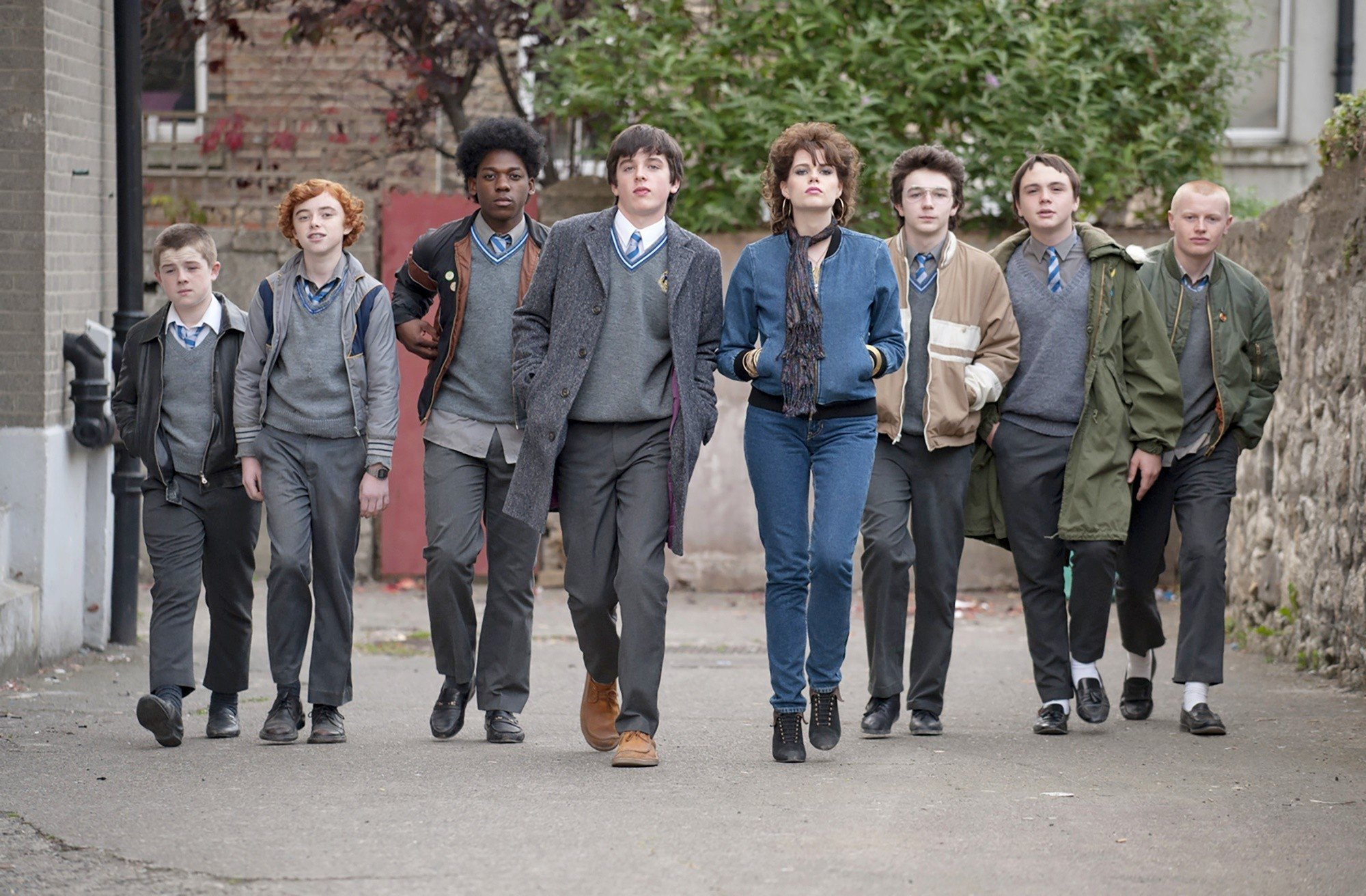 Ferdia Walsh-Peelo and Lucy Boynton lead the cast of writer/director John Carney's 'Sing Street'