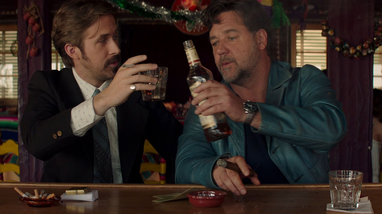 Ryan Gosling and Russell Crowe star in writer/director Shane Black's 'The Nice Guys'