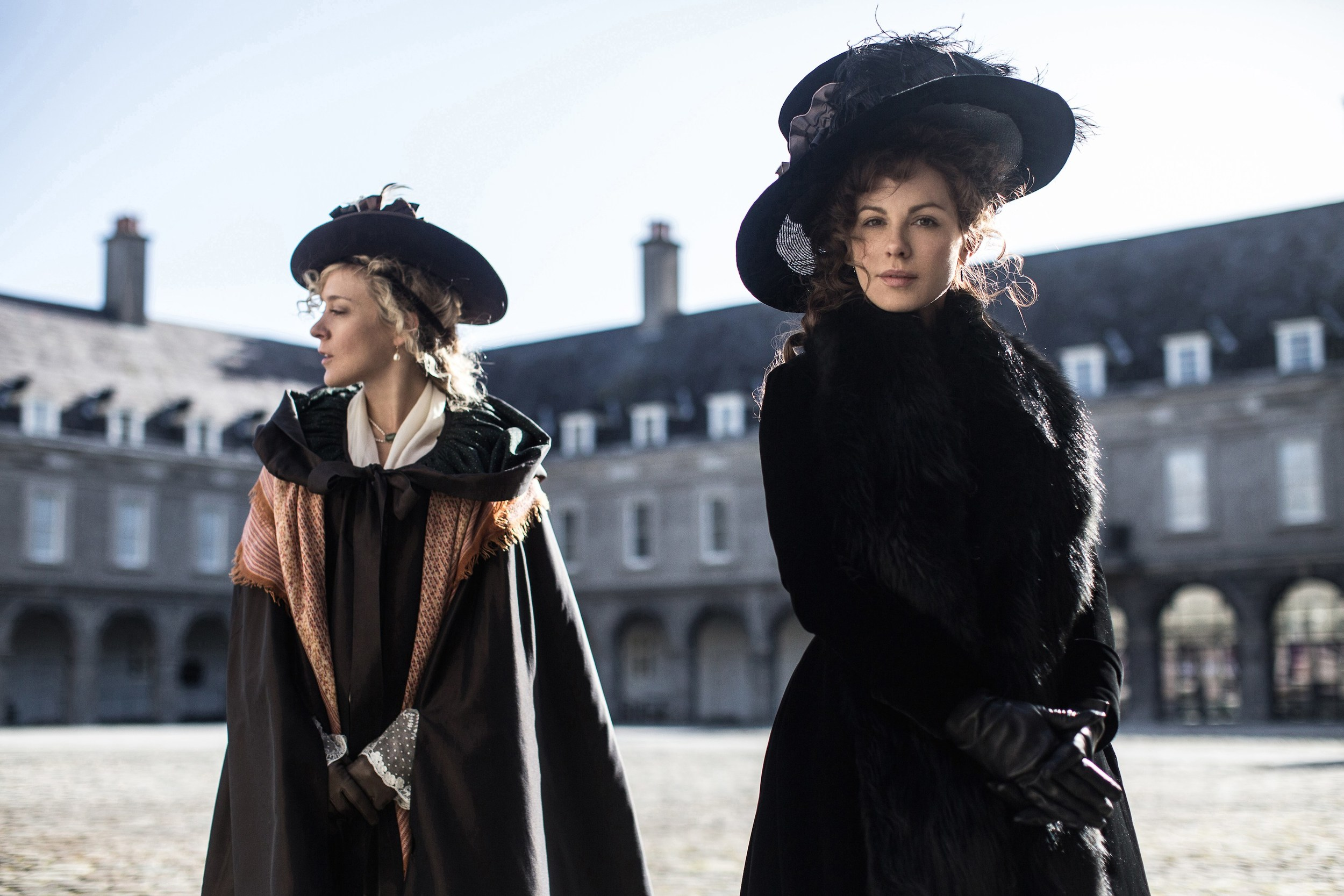 Chloe Sevigny and Kate Beckinsale in director Whit Sillman's  Love & Friendship