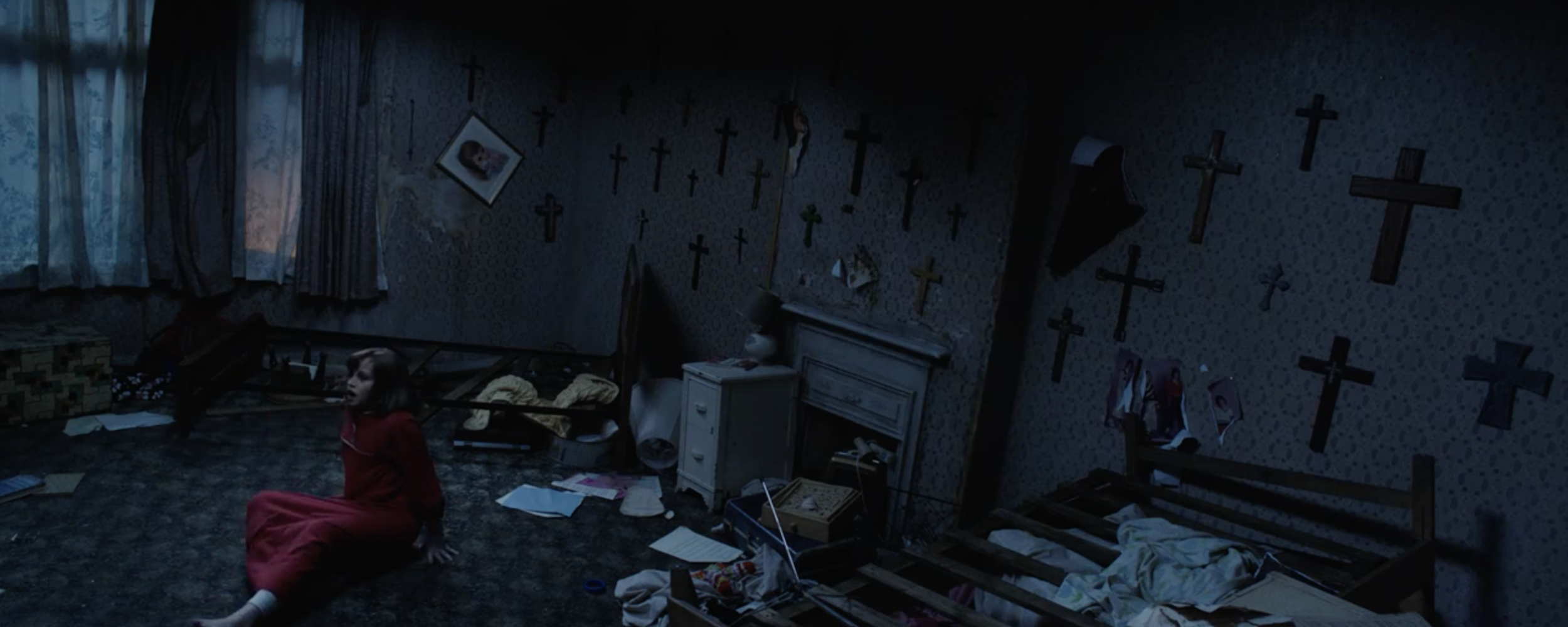 Sterling Jerins (as well as Patrick Wilson and Vera Farmiga) stars in director James Wan's  The Conjuring 2