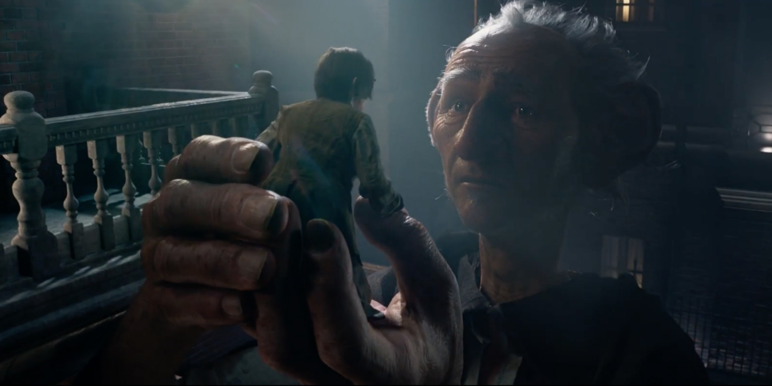 Ruby Barnhill and Mark Rylance star in  The BFG