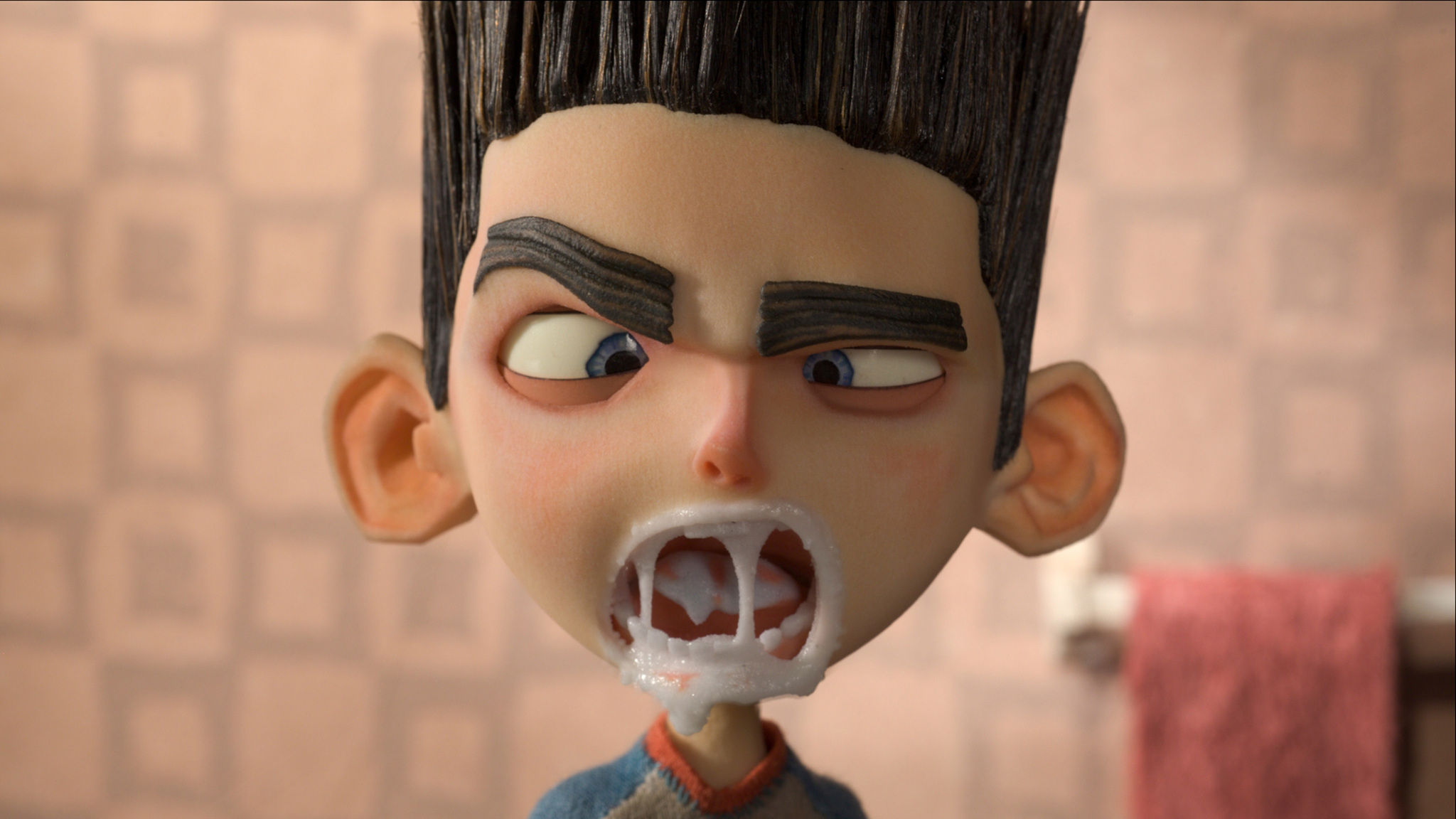 Kodi Smit-McPhee voices Norman in  ParaNorman