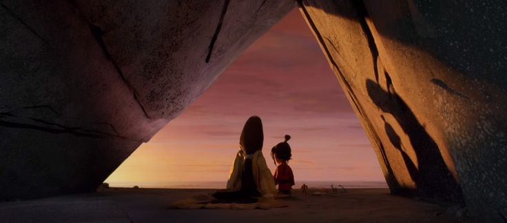 Art Parkinson and Charlize Theron star in director Travis Knight's  Kubo and the Two Strings , developed by LAIKA Studios