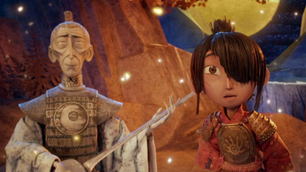Ralph Fiennes and Art Parkinson star in  Kubo and the Two Strings