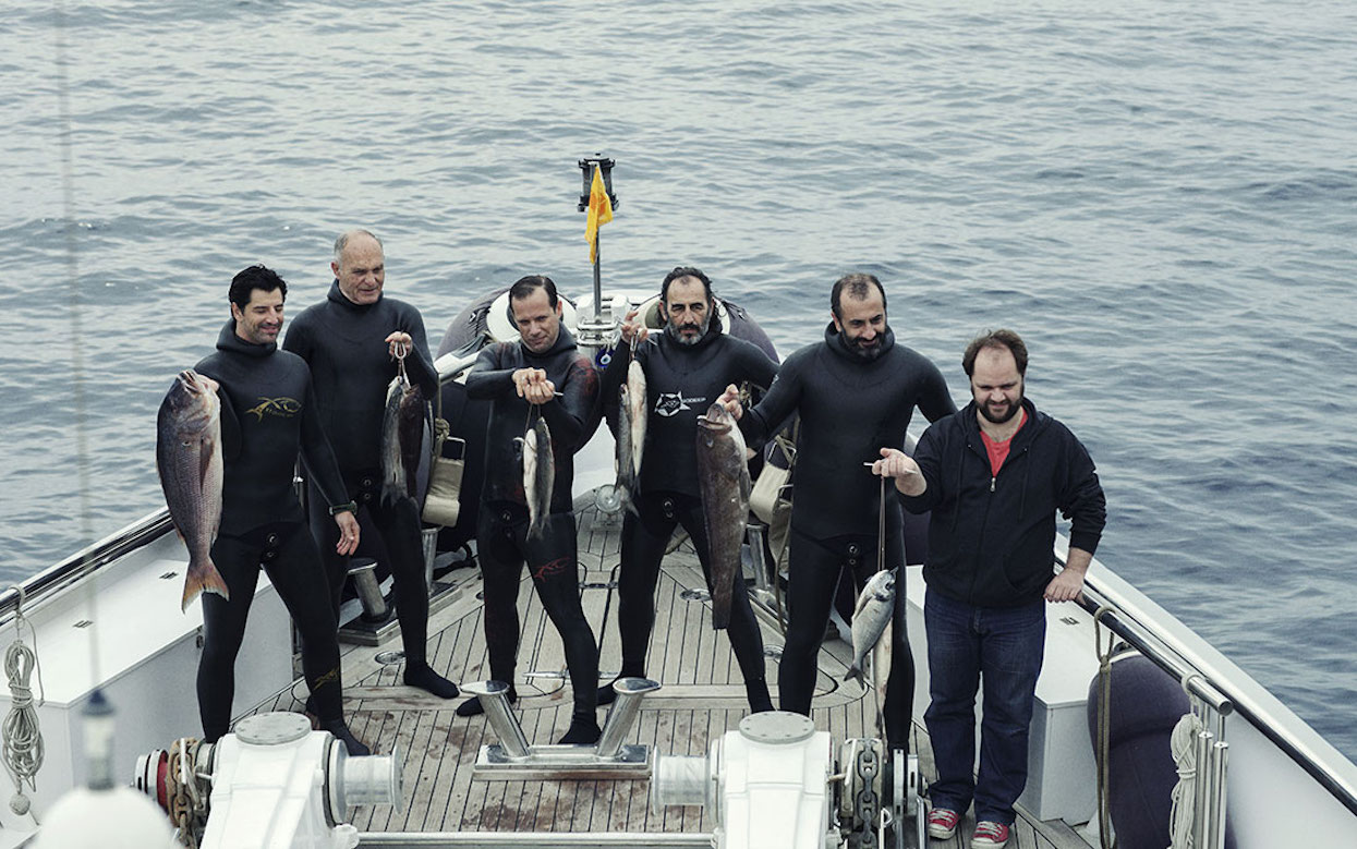 Makis Papdimitriou, Panos Koronis, and many other middle-aged Greek men star in director Athina Rachel Tsangari's  Chevalier