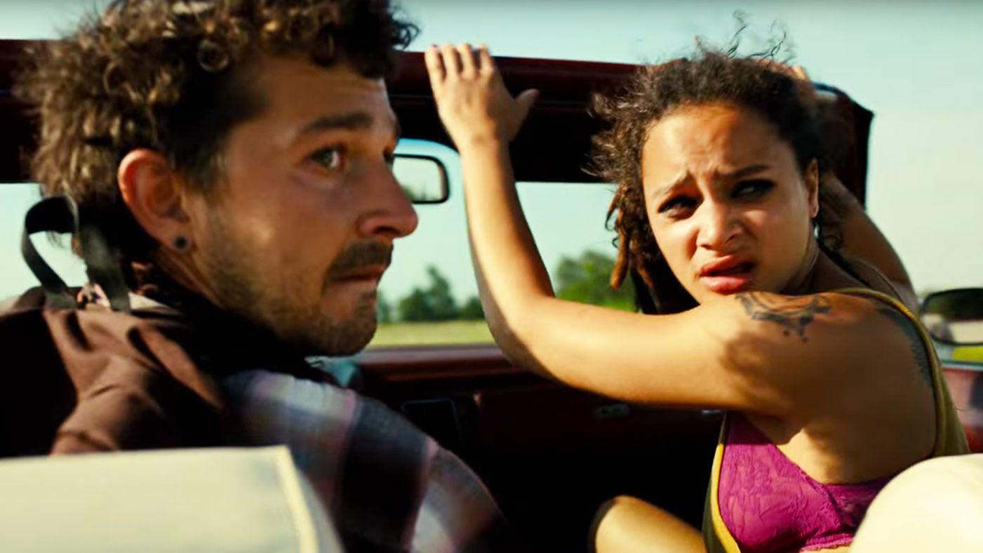 Shia LeBeouf and Sasha Lane star in director Andrea Arnold's  American Honey