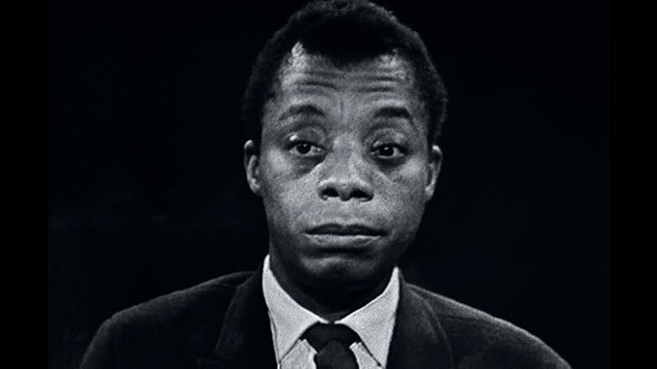 Samuel Jackson reads the words of James Baldwin (above) in director Raoul Peck's  I Am Not Your Negro