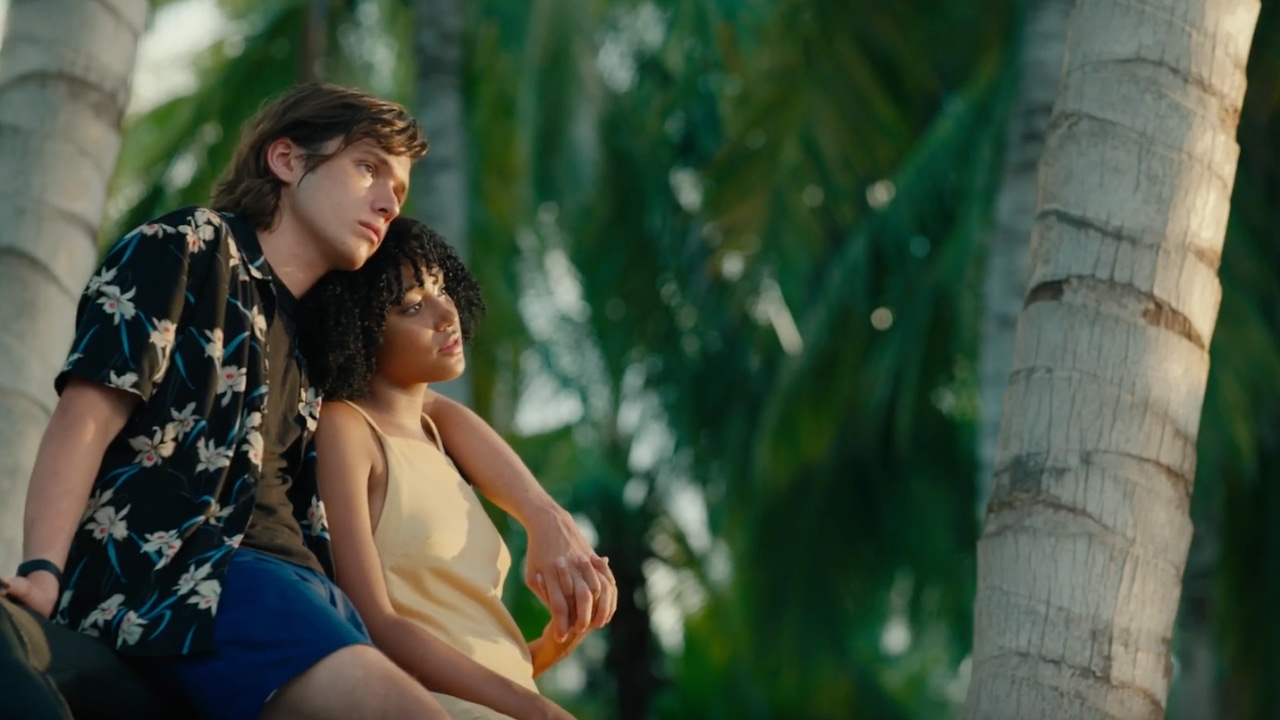 Nick Robinson and Amandla Stenberg have an undeniable chemistry in the charming YA adaptation  Everything, Everything  directed by Stella Meghie.