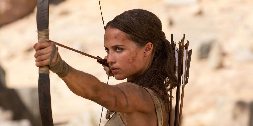 Alicia Vikander stars as Laura Croft in director Roar Uthaug's  Tomb Raider