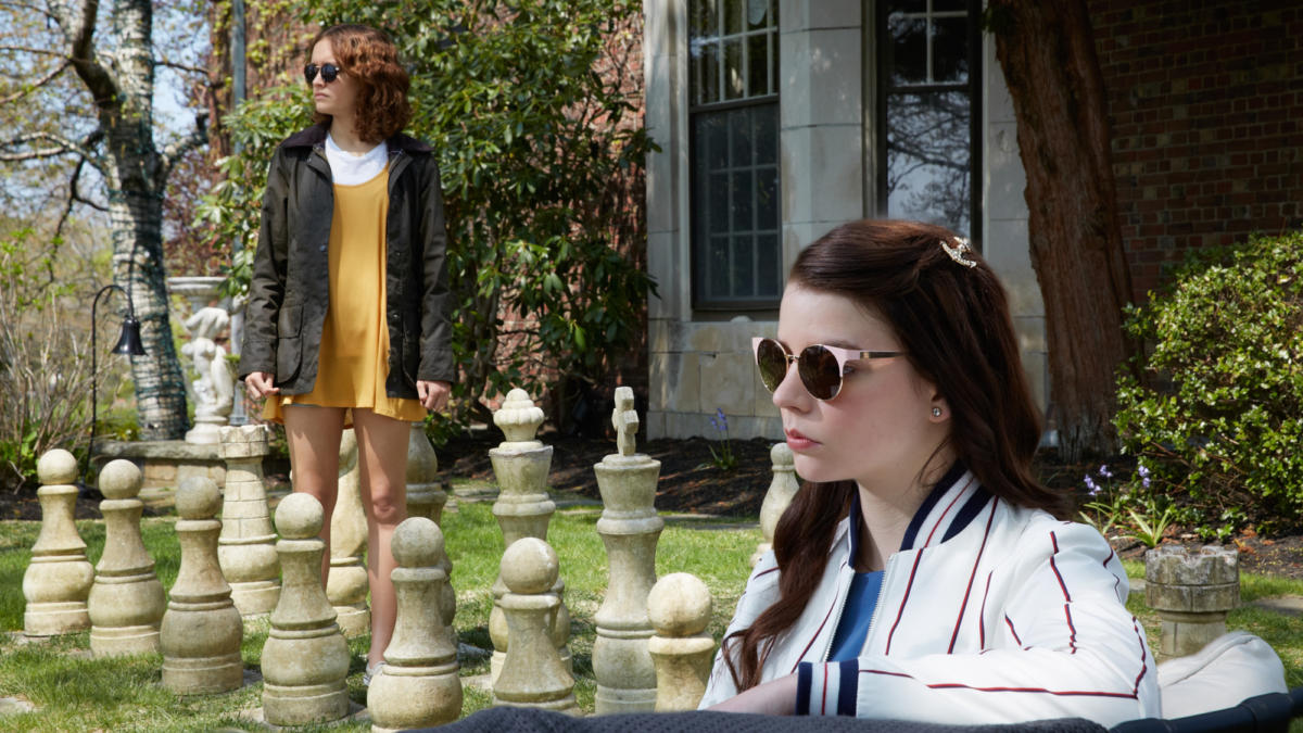 Olivia Cooke and Anya Taylor-Joy in  Thoroughbreds