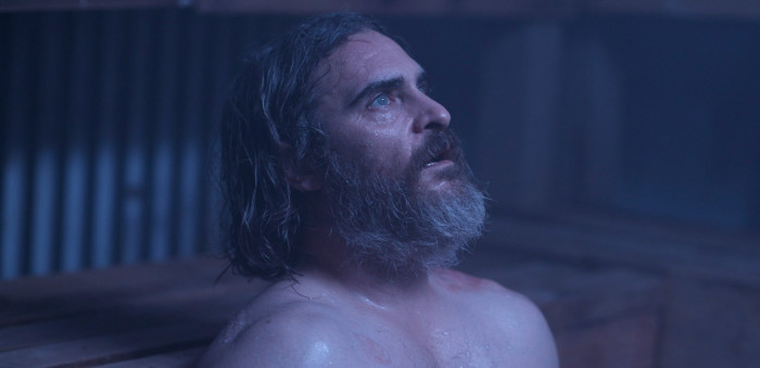 Joaquin Phoenix stars in director Lynne Ramsay's  You Were Never Really Here