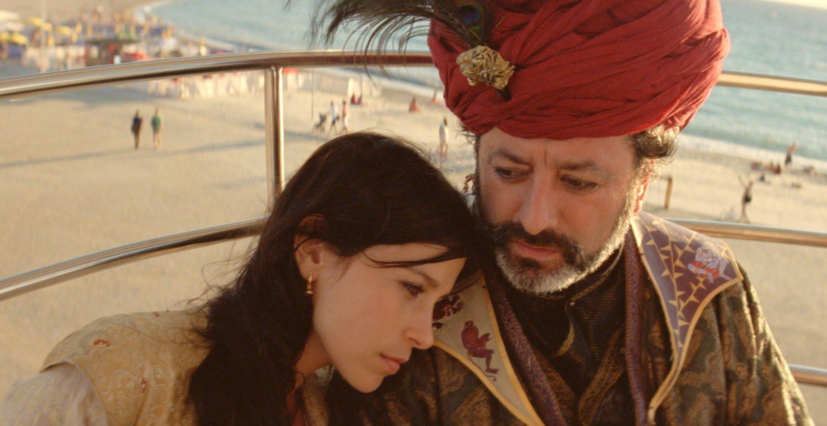 Crista Alfaiate and Dinarte Branco star in director Miguel Gomes's  Arabian Nights