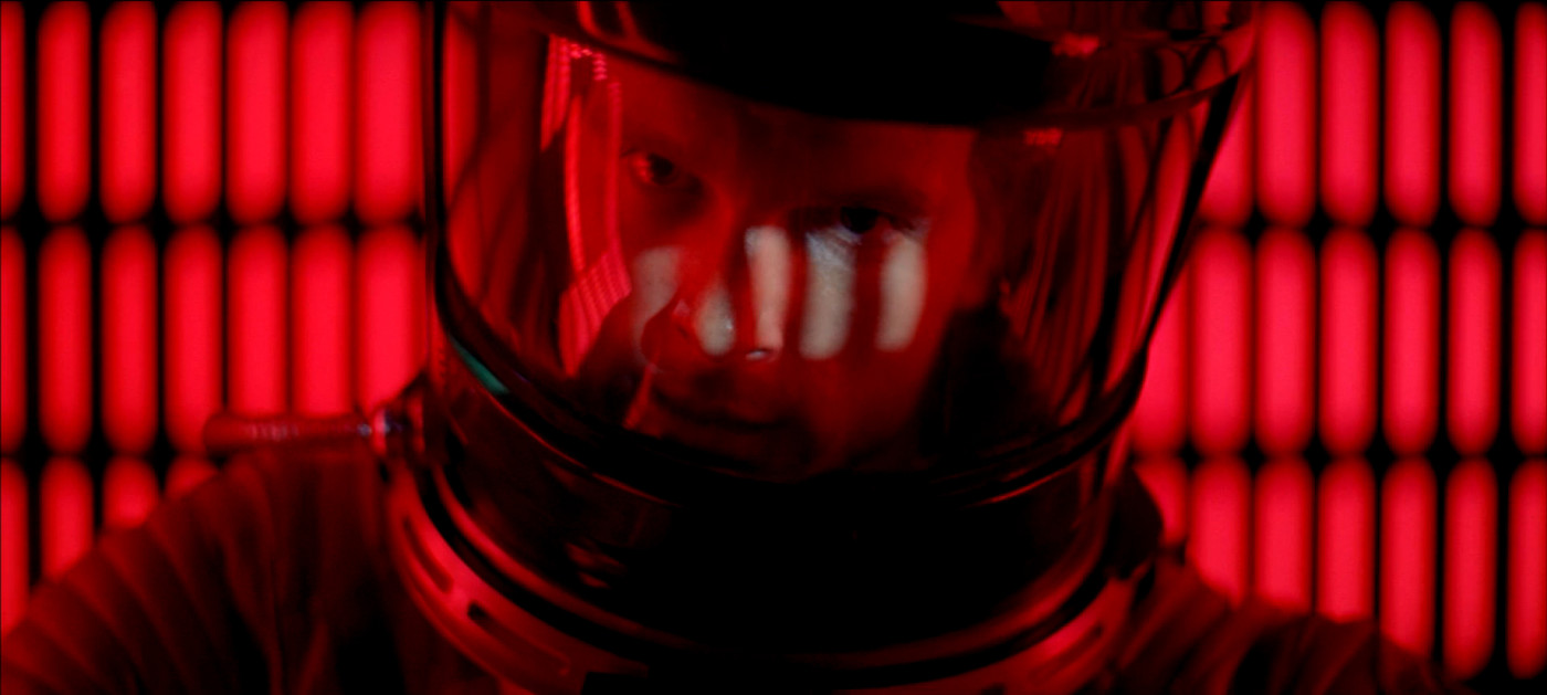Keir Dullea in  2001: A Space Odyssey