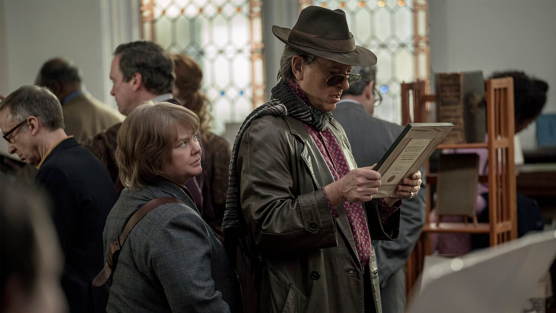 Melissa McCarthy and Richard E. Grant star in director Marielle Heller's  Can You Ever Forgive Me?