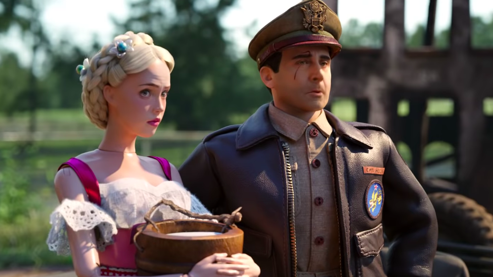 Steve Carrell stars in director Robert Zemeckis's  Welcome to Marwen