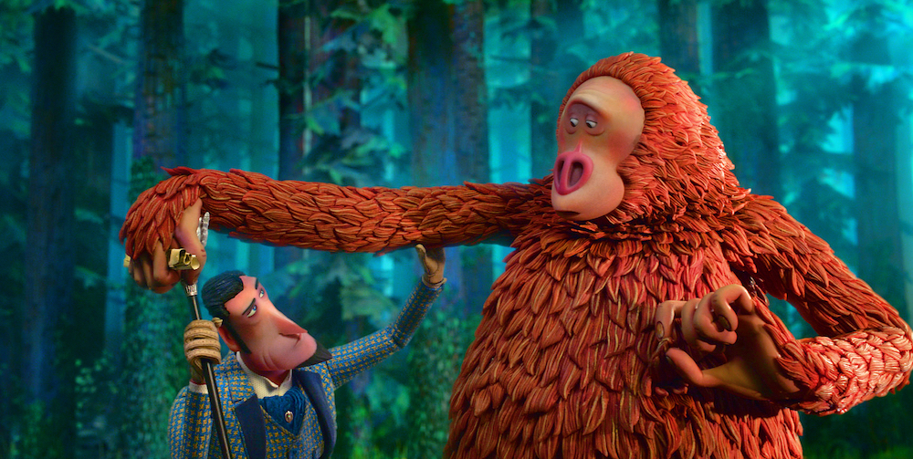 Hugh Jackman and Zach Galifianakis star in Laika studios' fifth feature,  Missing Link