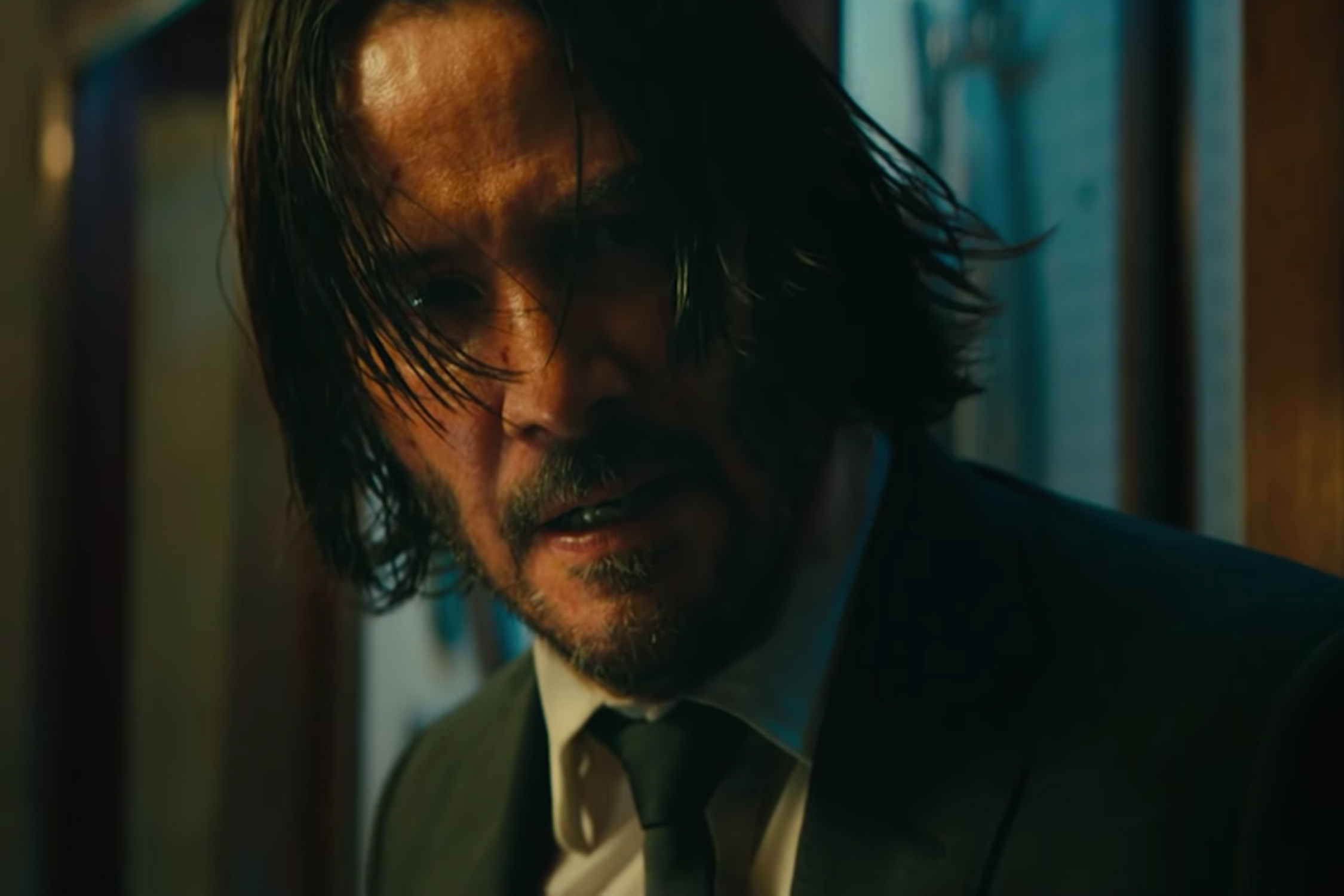 Keanu Reeves reprises his role as John Wick in the action franchise's third entry