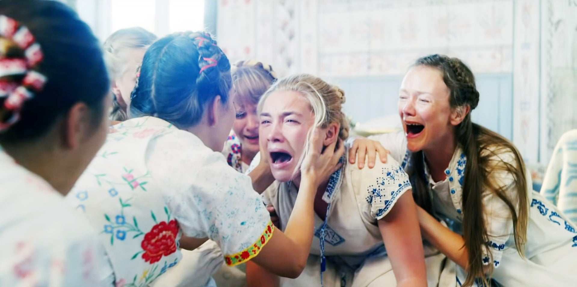 Florence Pugh stars in director Ari Aster's  Midsommar