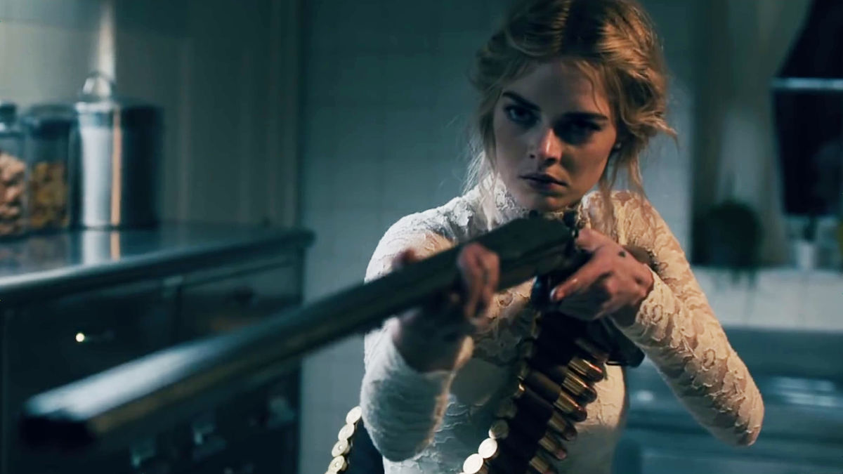 Samara Weaving stars in  Ready or Not  by directors Matt Bettinelli-Olpin and Tyler Gillet