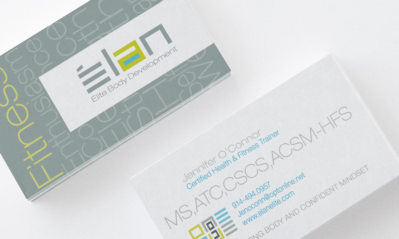 Elan Elite Business Cards