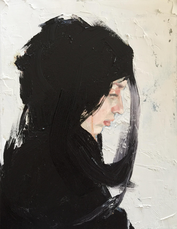 Black and White. Portrait #2