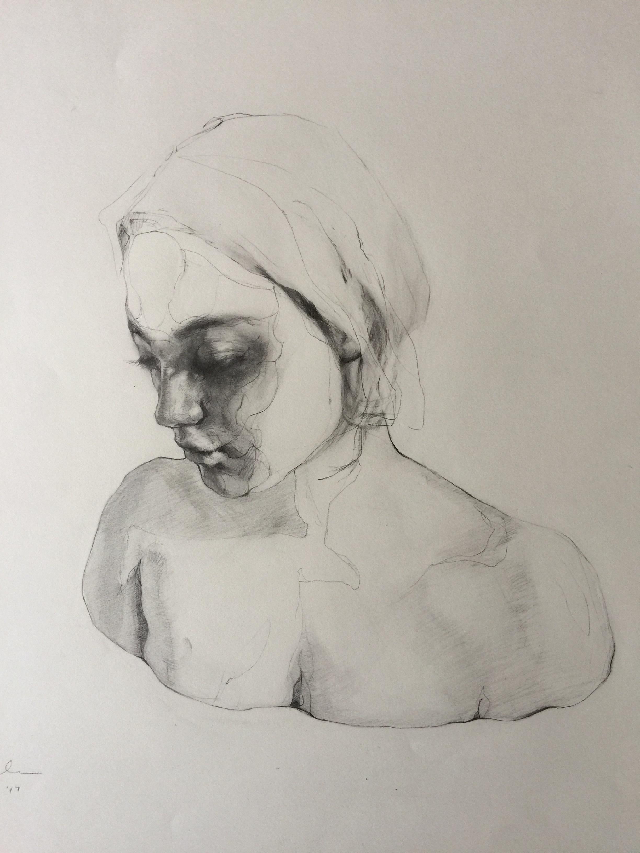 Agnes_Grochulska_Synthesis_Art_Process:Bust_3_pencil_18x24.JPG