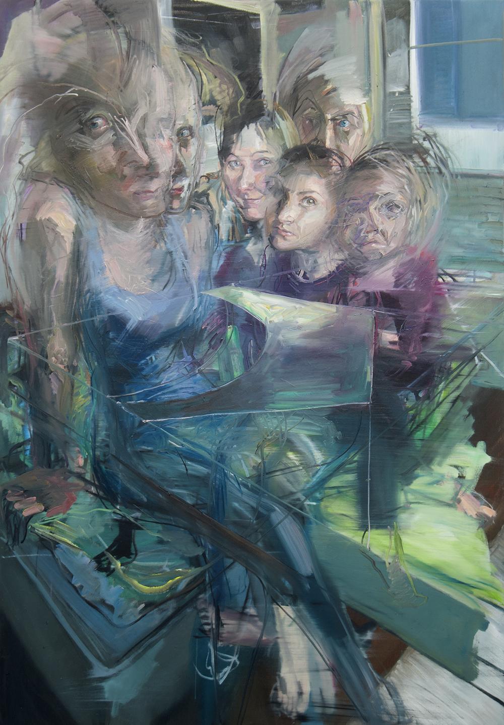 Mush 2017 100 x 142cm Oil on canvas