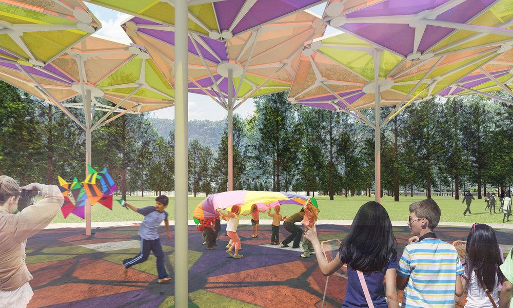 Lents Park Pavillion