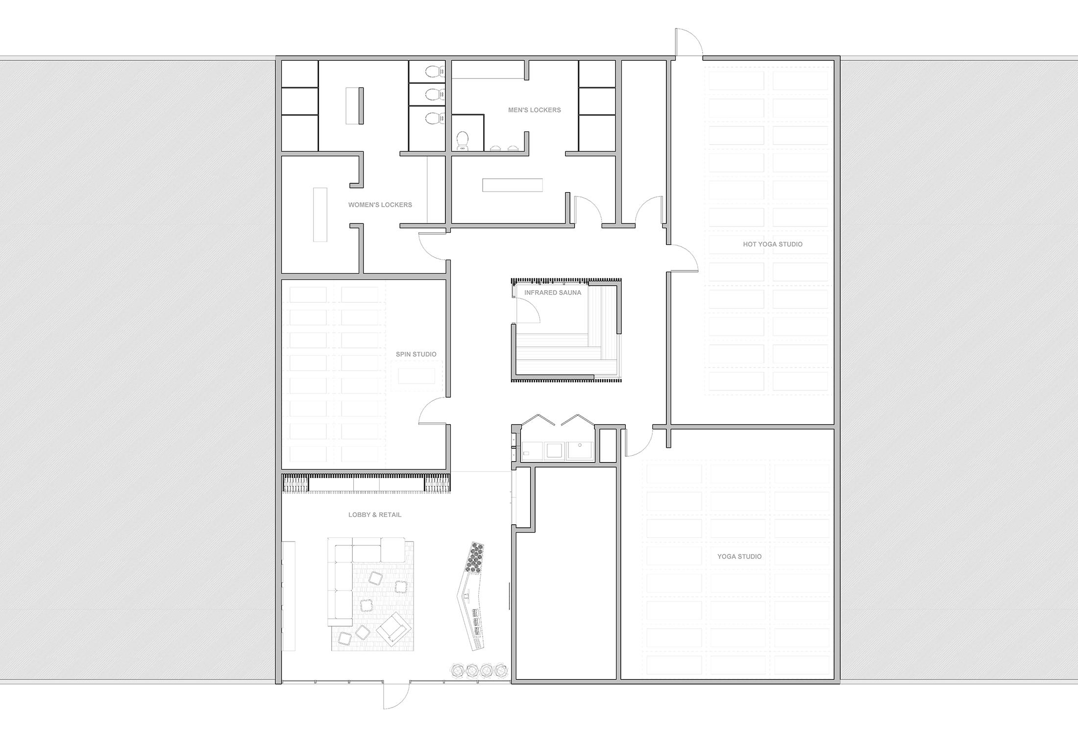 Alberta Hot Yoga Studio Propel Studio Architecture Portland Oregon