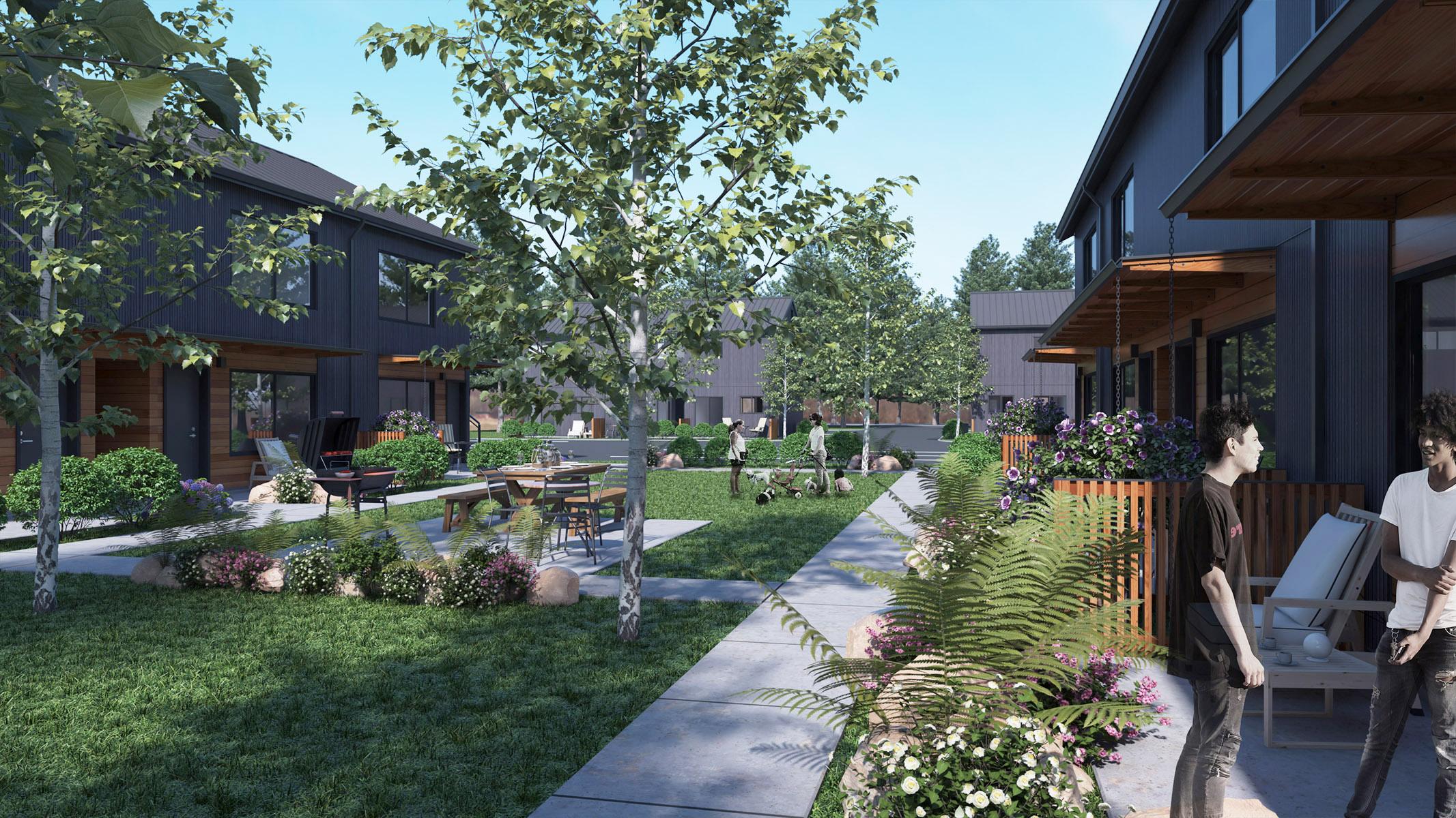 Affordable Housing Exterior & Energy Updates  - Community Center - Day.jpg