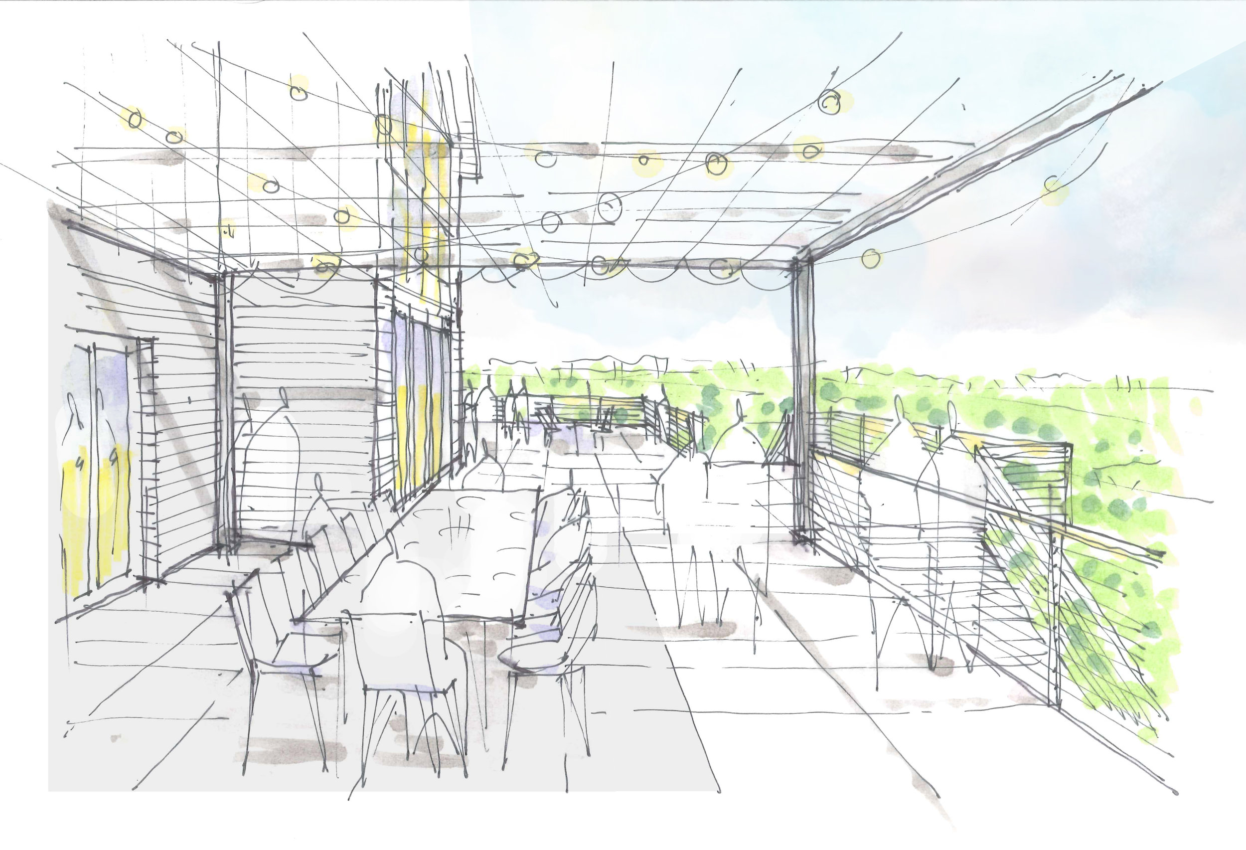 Sketches - View from dining - upper deck.jpg