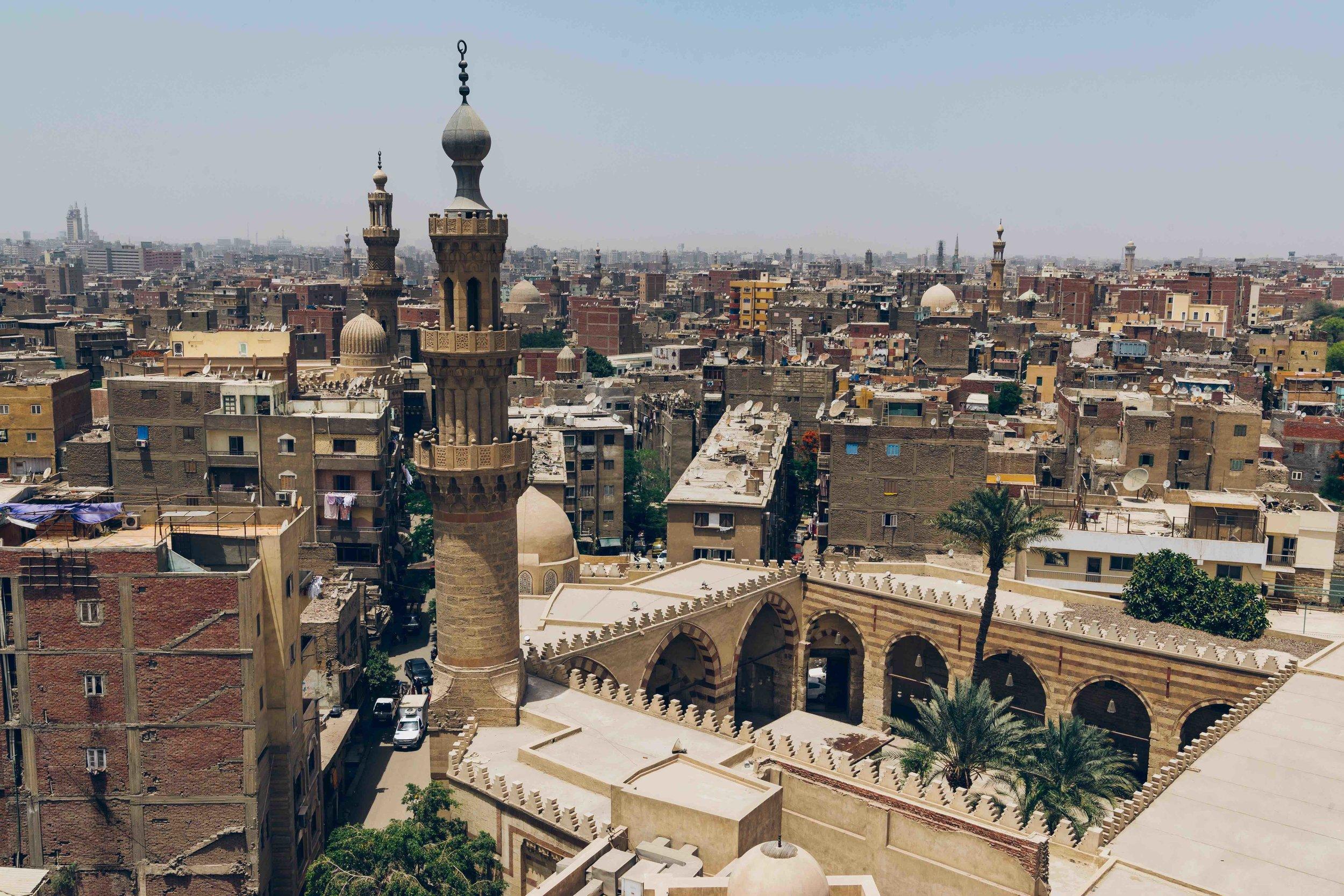 Views over al-Darb al-Ahmar