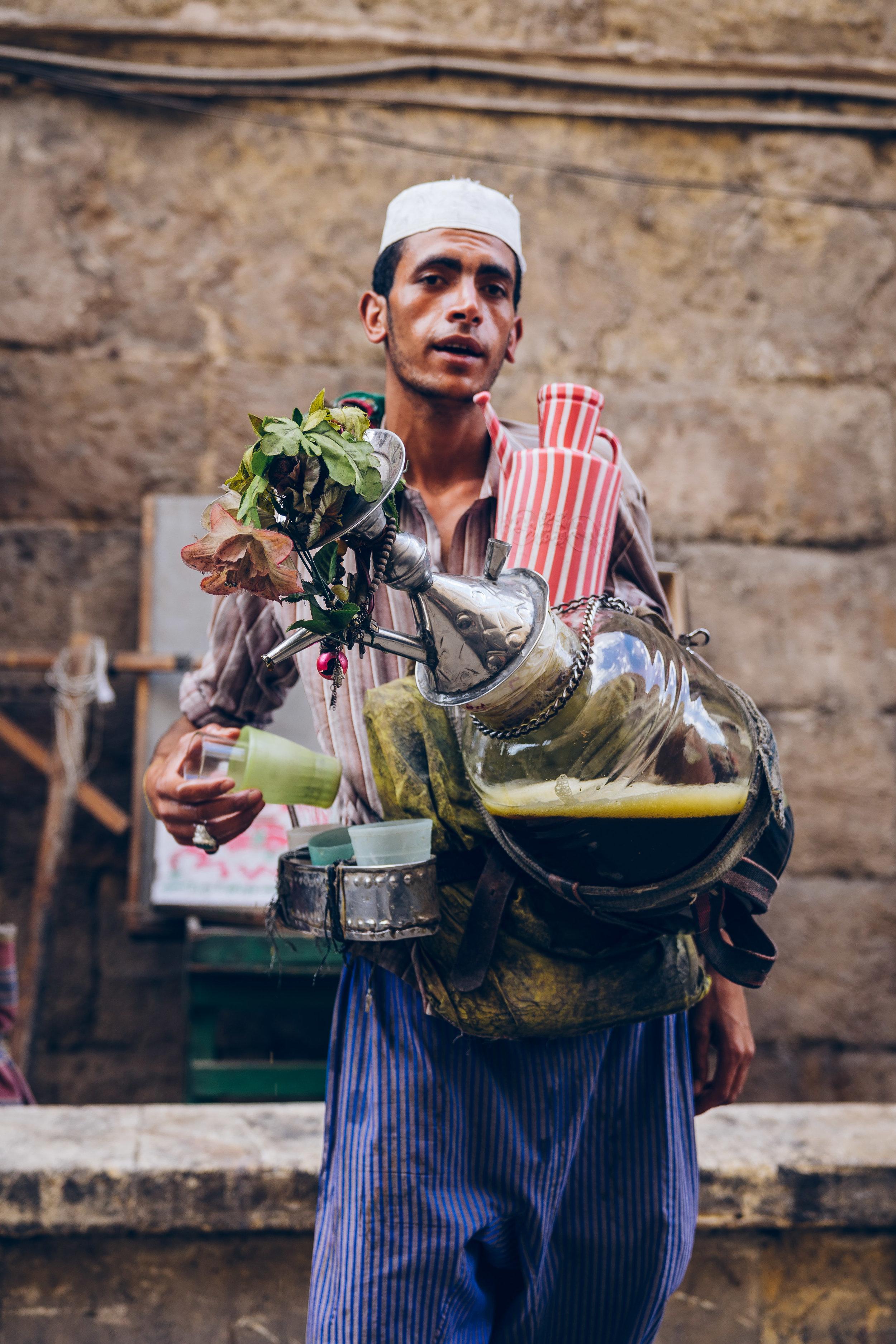 Erk Sous (liquorice juice) vendor